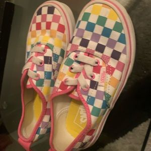 Used out of the box little girl vans